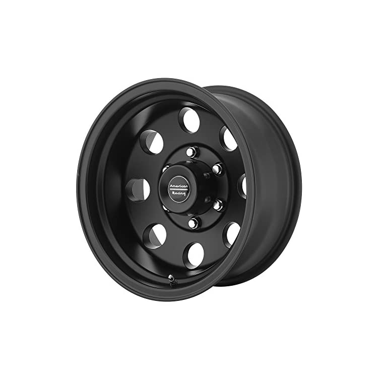 American Racing Custom Wheels AR172 Baja Satin Black Wheel (15×7″/5×114.3mm, -6mm offset)