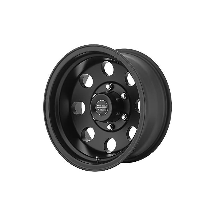 American Racing Custom Wheels AR172 Baja Satin Black Wheel (15×7″/5×114.3mm, -6mm offset)