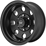 "American Racing Custom Wheels AR23 Satin Black Wheel With Clearcoat (16x7""/8x165.1mm, -6mm offset)"