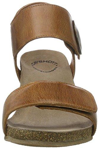 cashott A8024 - Sandalias Mujer Braun (Camel West 135)