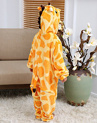 Carnevale Adulto Simpatico Costumi Anime Giraffa Kigurumi Animato Halloween Minetom Cartone Unisex Costume Di Bambini Flanella Pigiama Cosplay HxnTw4S
