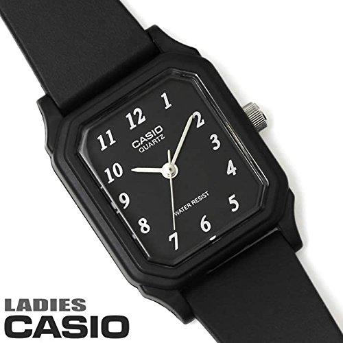 チプカシ 腕時計 アナログ ウレタンベルト レクタンギュラー レディース LQ-142-1B