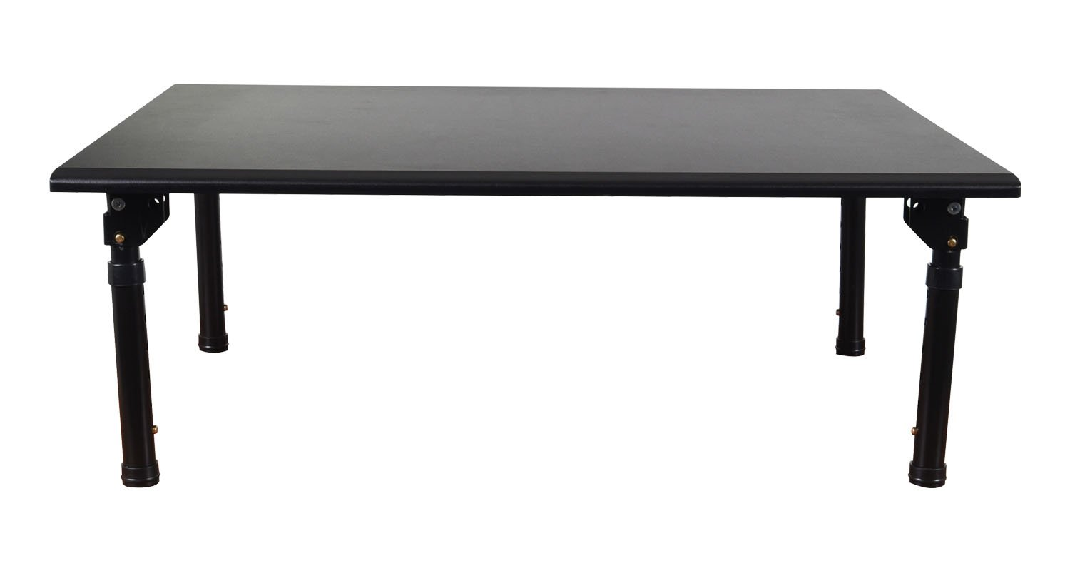 Luxor STAND-SD32F Stand up Desk, Black