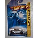 2007 New Models -#32 Porsche Cayman S Silver #2007-32 Collectible Collector Car Mattel Hot Wheels