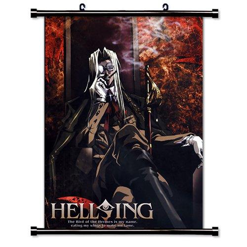 Hellsing Anime Fabric Wall Scroll Poster (16