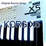 Musical Instruments : KORG X5X5D/X5DR/05R/W - Large Original Factory and NEW Created Huge Sound Library and Editors on CD or download