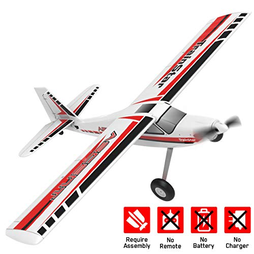 VOLANTEXRC Remote Control Airplane TrainStar Ascent Electric RC Trainer Aircraft with Gyro, 1400mm Wingspan & Plastic…