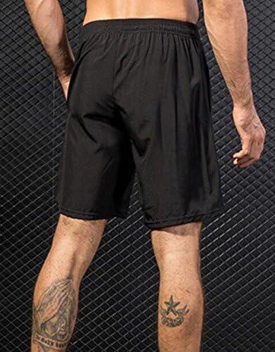 Basketball Gym WAWAYA Mens Casual Athletic Elastic Waist Shorts for Running