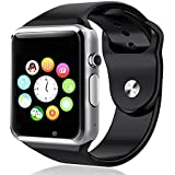 Sony Xperia T2 Ultra Dual Compatible and Certified Bluetooth Smart Watch with SIM Card Slot And NFC Cell Phone Watch Phone Remote Camera ( Get Mobile Charging Cable worth Rs 239 FREE & 180 days Replacement Warranty )