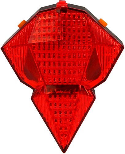iMounTEK USB Rechargeable Red Laser LED Bike Taillight – Powerful High Intensity LED Bicycle Rear Light – Extremely Bright/Easy Install. Great for Optimum Safety Flashlight. Fits Road/Mountain Bikes