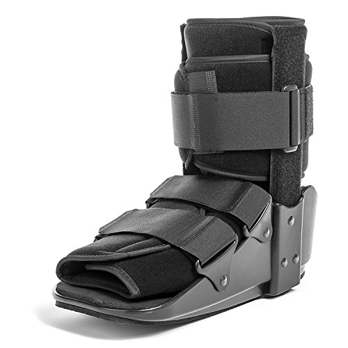 CoreLINE Fixed Cam Fracture Walker Boot with Metal Uprights for Sprains and Fractures (Short - Large)