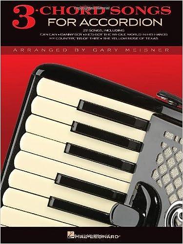 3 Chord Songs For Accordion Gary Meisner Hal Leonard Corp