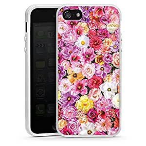 Apple iPhone 5 Case Shell Cover Silicone Case white - Marvellous