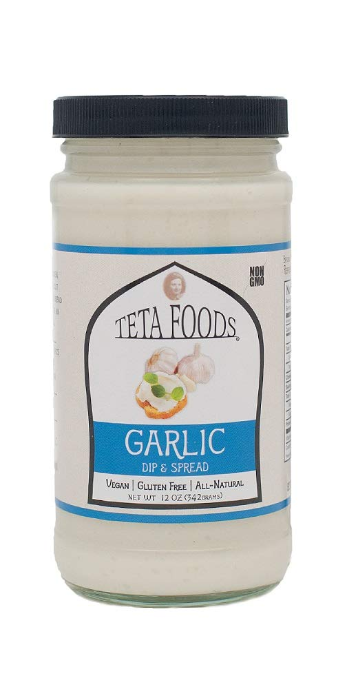Mediterranean Garlic Dip & Spread (12) by TETA FOODS