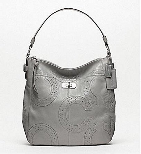 Coach Perforated Leather Bag - 2