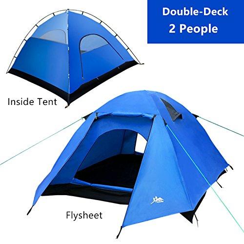 Yourjoy Outdoor Double Deck Camping Hiking Waterproof
