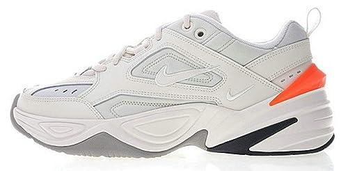 finest selection 5efa7 8a417 Air Monarch M2K Tekno White Orange Ao3108 001 Zapatillas de Running para  Hombre Mujer  Amazon.es  Zapatos y complementos