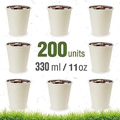 Soul Forest - Vasos Reciclables de Cartón 330 ml - Pack de Vasos ...