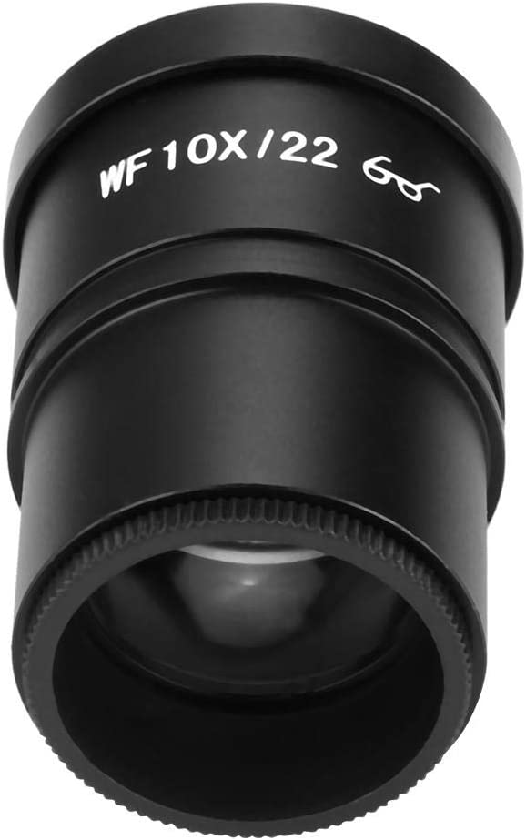 WF10X 22mm Wide-Angle Eyepiece Stereo Microscope Ocular Lens 30.5mm Meiyya Microscope Eyepiece