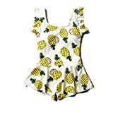 ARSTART Girls One Pieces Pineapple Pattern