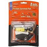 S.O.L. Survive Outdoors Longer Pocket Survival Pak Plus