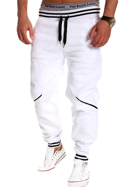 King Ma Men's Fashion Causal Sweatpants Jogger Sport Pants
