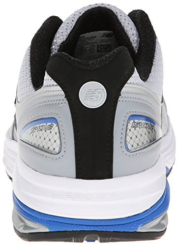 New Balance Men's M1540V2 Running Shoe,Silver/Blue,10 2E US Silver / Blue