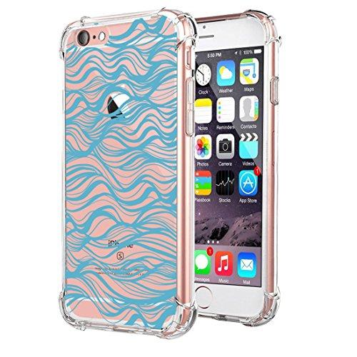 Scratch iPhone TPU Anti BackCase per 6s Apple Crystal iPhone Ultra Clear Cover Custodia 6 Premium Apple 6s Flessibile 08 Gel iPhone Silicone Trasparente Slim 6 TO4F1wqTf