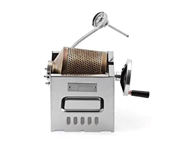 KALDI Mini Size (200~250g) Home Coffee Roaster Including Thermometer -Gas  Burner Required (Manual)