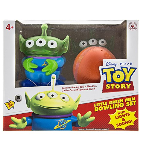 Disney Parks Toy Story Little Green Men Alien Bowling Set