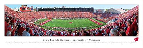 Wisconsin Badger Football - 50 Yard Line - Blakeway Panoramas Unframed -
