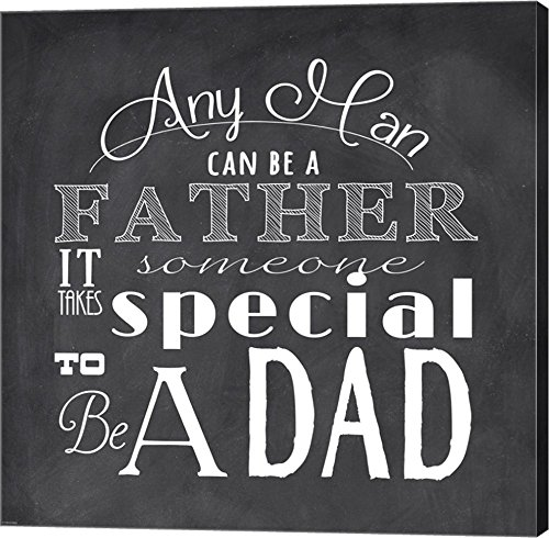 To Be A Dad - square by Veruca Salt  Art Wall