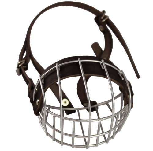 - Metal Wire Basket Dog Muzzle Boxer, Bulldog Female. Circumference 13