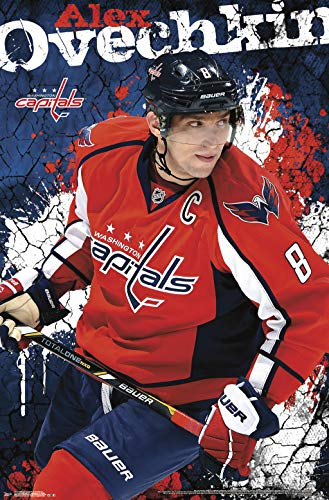 Trends International Washington Capitals-Alexander Ovechkin Clip Bundle Wall Poster, 22.375