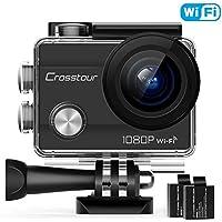 Crosstour CT7000 Action Camera 1080P 12MP WiFi Underwater...