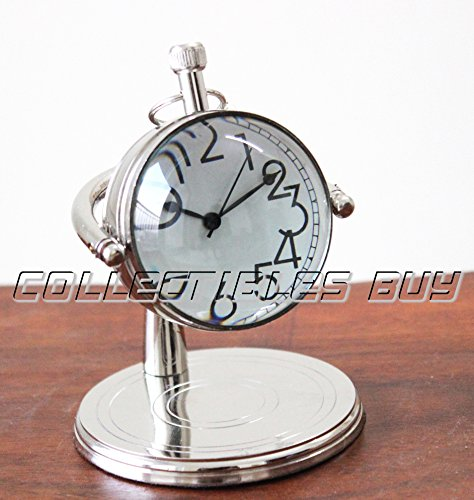 vintage-small-clock-for-table-decorative-silver-clock-marine-watch-gift