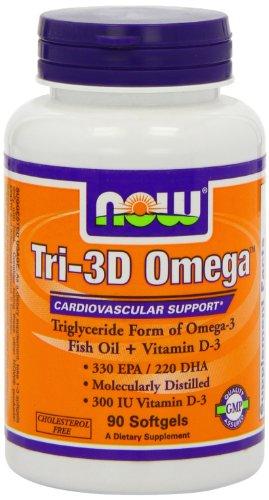 Foods Tri 3D Omega Softgels Count