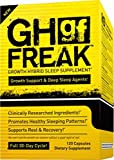 Pharmafreak GH Freak - Growth Hybrid Sleep Supplement - 120 Capsules - Top Rated Bodybuilding Recovery Supplement - Build Muscle and Recover Faster w/Healthy Sleeping Patterns.