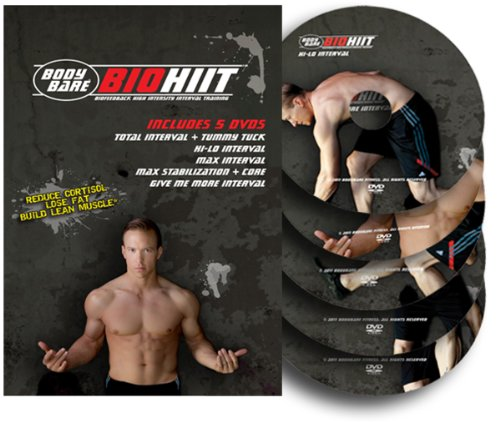 BIOHIIT - BIOfeedback High Intensity Interval Training - 5 DVD Workout by Ladder Up Media
