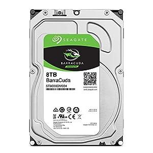 Seagate BarraCuda 8TB Internal Hard Drive HDD – 3.5 Inch SATA 6 Gb/s 5400 RPM 256MB Cache for Computer Desktop PC…