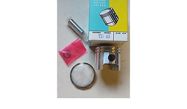 Kit de pistón de repuesto para KAWASAKI TD40 desbrozadora: Amazon ...