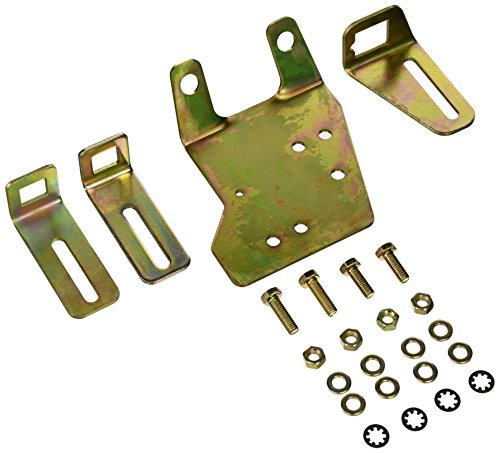 Chevy Throttle Cable (Professional Products 52126 Zinc Plated Steel Throttle Cable Bracket Kit)