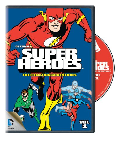 DVD : DC Comics Super Heroes: The Filmation Adventures: Volume 1 (Full Frame, Eco Amaray Case)