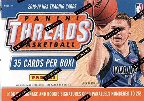 2018/19 Panini Threads NBA Basketball BLASTER box (35 cards)
