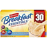 Nestle Carnation Breakfast Essentials – Classic French Vanilla – Drink Mix – 30 Servings Value Pack! For Sale