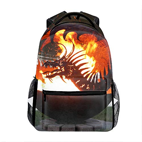 Pendragons Hearth School Backpack for Girl/Boys Lightweight Travel Backpack