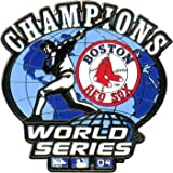 Boston Red Sox Champions Globe Pin