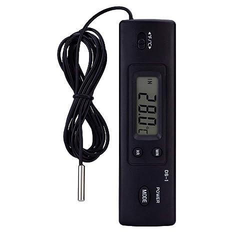 Digital Kueche Thermometer Temperaturmessgeraet Probe Tester mit LCD-Display IS