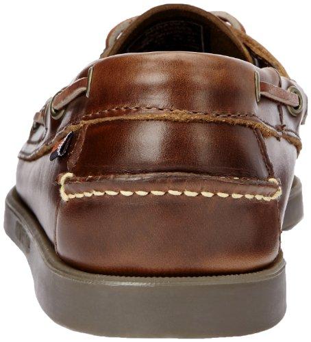 Sebago DOCKSIDES B72758 - Náuticos de cuero para hombre Marrón (Brown)