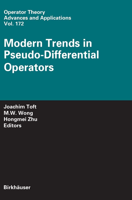amazon modern trends in pseudo differential operators operator